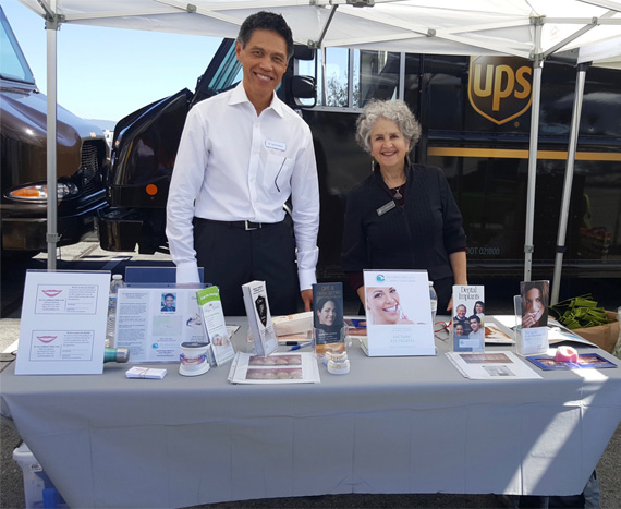 UPS Wellness Fair, Dentist San Francisco
