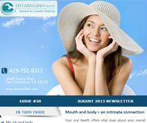 - August 2013 Newsletter